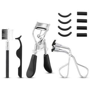 Eyelash Curler Kit for Women, Liaboe lash Makeup